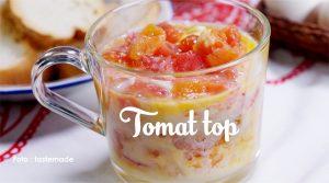 Tomat Top, Minuman Istimewa dari Sumatera Barat