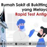Rumah Sakit di Bukittinggi yang Melayani Rapid Test Antigen