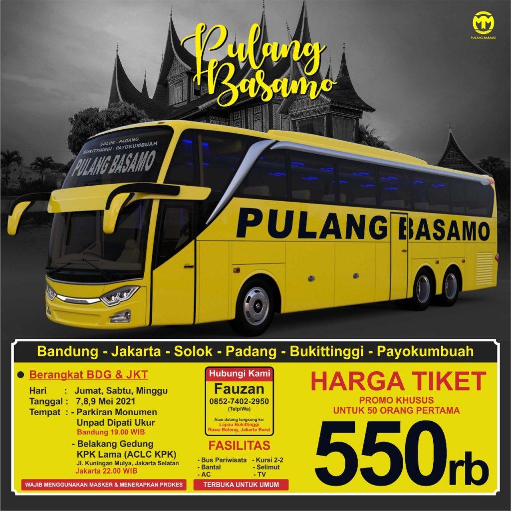 Tiket Pulang Basamo 2021