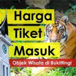 Harga Tiket Masuk Objek Wisata Bukittinggi