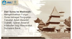 Mengembalikan Fungsi Surau di Minangkabau